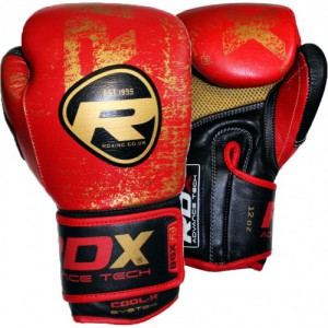 Перчатки боксерские RDX Premium Red